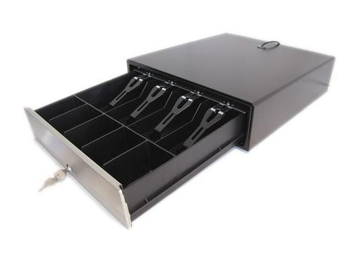 Денежный ящик HPC – 16SP-3P Black (Push-Push)