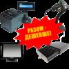 Комплект торгового оборудования «Все в 1» (Фискальный регистратор MG-P777TL + Ручной сканер штрих-кода Symbol LS 2208 + Грошовий ящик HPC-16S 24B + POS-терминал GEOS Standard A1502)