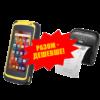 Комплект торгового оборудования «Все в 1» (Терминал сбора данных CipherLab RS 50 + Мобильный принтер этикеток TSC TDM-30 MFi BT)