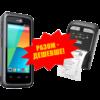 Комплект торгового оборудования «Все в 1» (Терминал сбора данных CipherLab RS 31 + Мобильный принтер этикеток Zebra QLn220) 9938